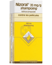 Nizoral 20mg Shampooing 100ml